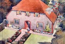 Vintage Cosy Homes / I love 30's 40's 50's style homes