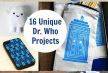 Doctor Who Crafts and More / I love love love Doctor Who. The 9th is my Doctor :) Time can get pretty wibbly wobbly with so many fun pins to click on. Doctor Who crafts, Doctor Who recipes