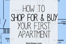 Apartment Ideas / Getting my grown up life organized / by Chelsea Duvall