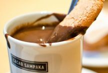 Hot Choc / Hot and cold drinking chocolate  / by Sandra Arnold
