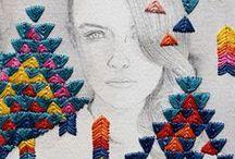 Sewing/Embroidery / by Alexandra Dau | Crims0nScarf