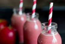 .smoothies. / Smoothies to keep the energy flowing throughout the day.