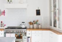 HOME | WHITE KITCHEN / by Jess Wilcox
