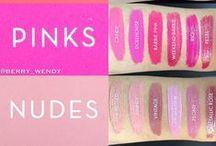 Makeup Swatches / makeup swatches