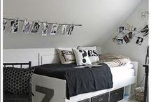 Kids room ||| Kinderzimmer / Inspiration und Einrichtungsideen fürs Kinderzimer, scandinavian Kidsroom, Black and White