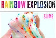 Slime Recipes / See fun slime recipes and DIYs to try with your kids. Some edible, some not.