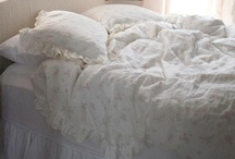 Cozy beds / I love to make cozy beds......lots of padding, cotton sheets and down comforters with duvets! The BEST! / by Michelle Van Dyke
