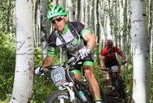 LW MTB Athlete's in action