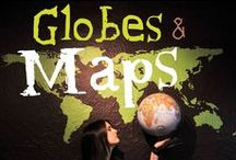 // GLOBES & MAPS / by Seattle's Travels
