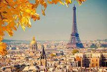Paris.....Viva La France....Ooh lala / by Doreen Cumberford