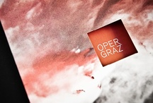 Oper Graz // Branding by moodley brand identity / Due to renovation Oper Graz had to leave parts of the opera building for the new season. Therefore moodley composed an opera world between packing cases, wool, electric cables and packaging material.  More: http://www.moodley.at/en/portfolio/branding/oper-graz.html