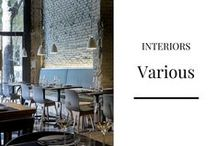 INTERIORS: Various
