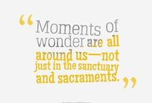 #LIVEWONDERSTRUCK / Let's LIVEWONDERSTRUCK together and celebrate the ways God is revealing His wonders to us together.