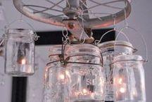 Mason Jars / All kinds of mason jar ideas