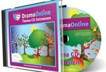 Theatrale muziek voor de dramales / DramaOnline geeft ieder jaar een CD uit met theatrale muziek om de dramales muzikaal te ondersteunen. Deze vormen een belangrijk onderdeel van onze methode en kunnen daarnaast ook los ingezet worden.