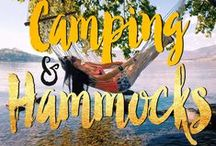 // CAMPING & HAMMOCKS / Tents + Hammocks + Travels / by Seattle's Travels