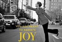 #FightBackWithJoy / Celebrate more. Regret less. Stare down your greatest fears.