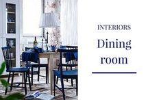 INTERIORS: Dining room
