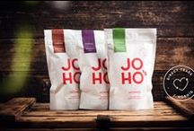 JOHO's // Packaging by moodley brand identity