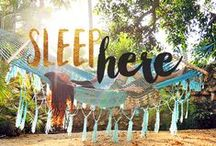 // SLEEP HERE / by Seattle's Travels