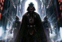 Star Wars / Star Wars, también conocida en español como La guerra de las galaxias, es una franquicia de medios perteneciente al género de la ópera espacial épica,Nota 1 concebida por el estadounidense George Lucas, quien ha sido el principal guionista, director y productor de la saga de películas con la que inició la franquicia.
