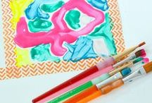 Kids Art Activities / Arts and crafts projects and activities for children. / by Rachelle Doorley | TinkerLab Art Activities for Kids
