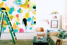 Art Studio Ideas / Beautiful studio spaces that inspire me to make art, craft, and tinker. / by Rachelle Doorley | TinkerLab Art Activities for Kids
