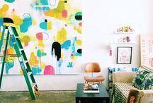 Art Studio Ideas / Beautiful studio spaces that inspire me to make art, craft, and tinker.