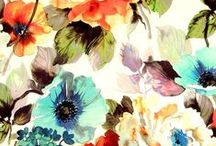 ELEMENTS: Floral / Flora prints in every style, colour and season. Florals are feminine and commericially strong!