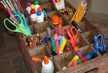 Organized Home / Tips and tricks for getting your home in order. / by Rachelle Doorley | TinkerLab Art Activities for Kids