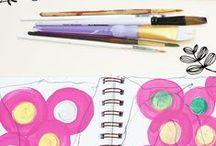 Sketchbook Prompts / Sketchbook and art journal ideas, inspiration, prompts, challenges.