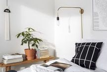 inspire | b e d r o o m / inspiration for the bedroom