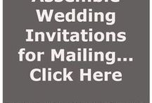 Wedding Invitations FYI / All kinds of tips related to wedding invitations from www.PrintedCreationsWeddingStore.com.  #wedding #weddinginvitations