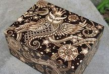 Sheila Rayyan creations / Some of my favorite work that I've done. Ceramics, pyrography, sculpture, drawings....