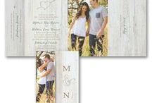 Rustic Wedding Theme / Planning a rustic wedding? Here are inspirational ideas for planning a rustic themed wedding - from your bouquet, cake, flowers & decorations to rustic wedding invitations - www.PrintedCreationsWeddingStore.com.  #rusticwedding