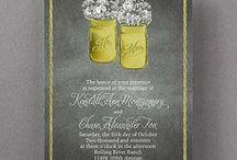 Chalkboard Wedding / Trendy ideas for planning your themed chalkboard wedding including chalkboard wedding invitations - www.PrintedCreationsWeddingStore.com. #chalkboardwedding