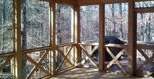Screened Porches & Open Porches / Porches come in so many shapes and sizes. Archadeck of Central GA works with clients to design porches fitting their family, lifestyle, and outdoor living space.