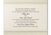 Art Deco Wedding / Trendy ideas for planning an art deco wedding theme - from your bouquet, cake, flowers & decorations to art deco wedding invitations - www.PrintedCreationsWeddingStore.com.  #artdecowedding