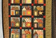 Quilt/ barns / houses