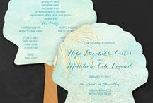 Unique Wedding Programs / Wedding Programs - their unique designs are meant to share the order of your wedding ceremony along with the names of your wedding party - www.PrintedCreationsWeddingStore.com. #weddingprograms