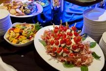 Do not enter if hungry! / Appetizers, entrees, and desserts made by Russo's ...  To see more about our menus visit http://www.russosgourmet.com/catering/