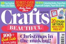 We've Got Issues / ...don't worry, we're perfectly all right. We mean magazine issues! Enjoy... / by Crafts Beautiful