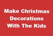 Homemade Craft Ideas / There's nothing better than homemade craft ideas is there!  Whether it's something to keep you or the kids entertained and busy or as ways of making great gifts that people will love and which will not cost you the earth! Here's a great collection of homemade craft ideas that you can get started on now.