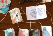 Bookmaking / Bookmaking for kids, tutorials, and ideas. How to make books that are simple and cheap. Inspiration for beautiful handmade books.