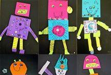 Kindergarten Art / Fun activities and art projects for kindergarteners and 5-year old children.