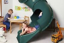Playroom Ideas / Playroom ideas and inspiration for toddlers, girls, and boys. Organization, storage, and planning tips.