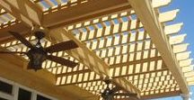 Macon & Warner Robins GA Pergola Builder / Our pergolas are designed to not only add beauty, but to add privacy, shade, protection from the elements and even help anchor a deluxe outdoor living space.