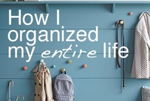 Organization / by Salena Lee {A Little Piece of Me}