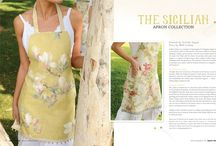 - APRONS - / I AM SO HAPPY THAT I  WAS GIFTED  MY GRANDMOTHERS HANDMADE APRON FROM MY MOTHER