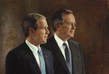 America ~ Presidents Bush / by Robert Ryggs